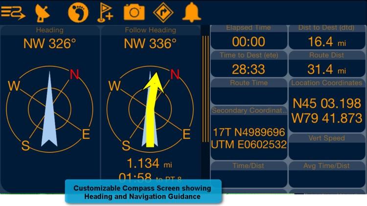 PathAway Express - Outdoor GPS Navigation, Maps screenshot-4