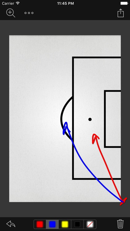 InfiniteSoccer Whiteboard screenshot-1