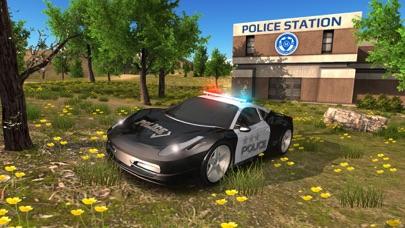 Police Car driving Offroad 4x4のおすすめ画像1