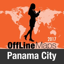 Panama City Offline Map and Travel Trip Guide