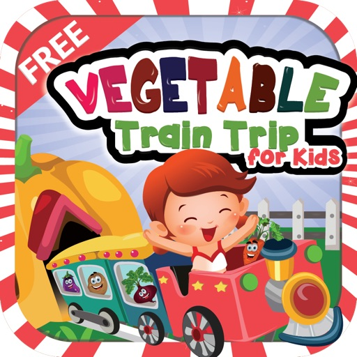 Vegetable Train Trip for Kids