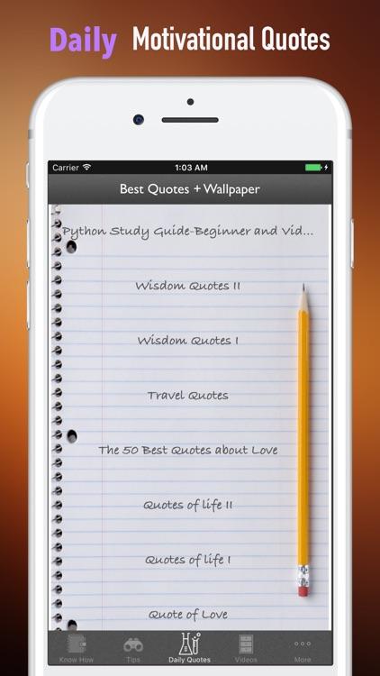 Python Study Guide-Beginner and Video Tutorials screenshot-4