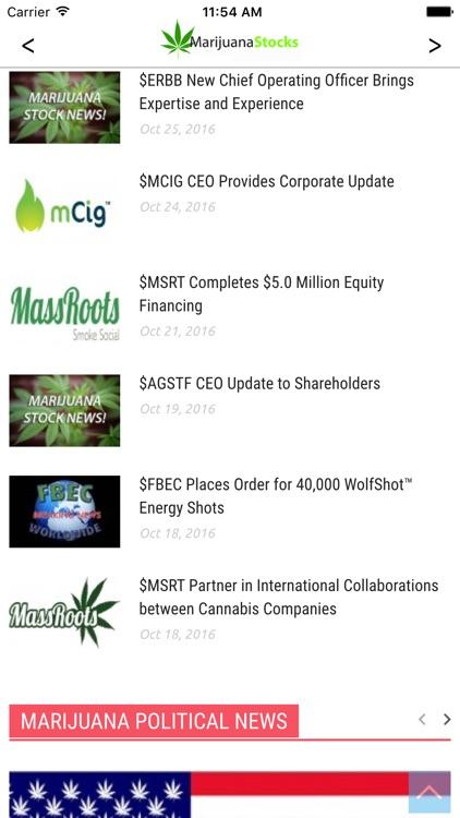 MarijuanaStocks