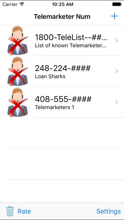 Call Peace - Stop Telemarketing Calls screenshot-3