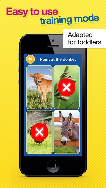 Kids Animal Games:toddler learning flashcards Free