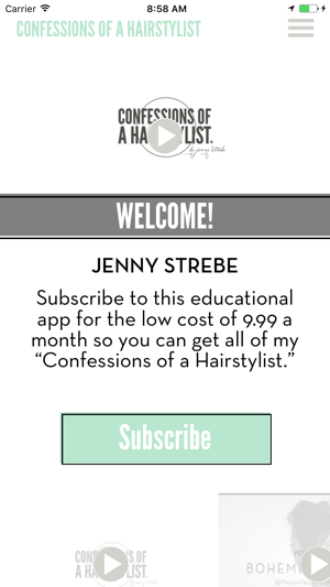 Confessions of a Hairstylist on the App Store