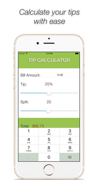 Tip Calculator Free - Tipy