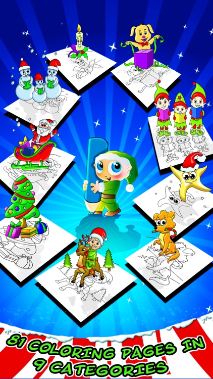Christmas Coloring Toy Book