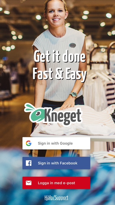Kneget - Search or advertise jobs easily and fast