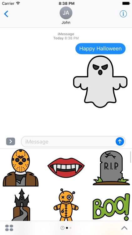 Halloween Stickers - Fun Spooky And Haunted Add-on
