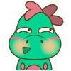 DeeDee, the cute green dragon