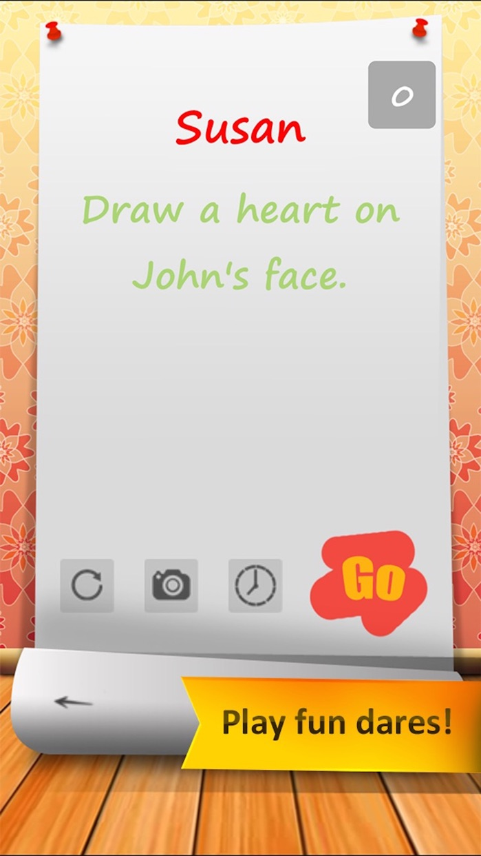 Truth or Dare with Spin the Bottle for Teens Screenshot