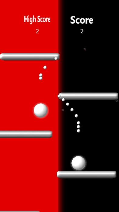 White Balls Free Screenshot on iOS