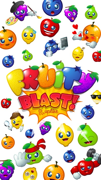 Fruity Blast Stickers : Funny Fruits