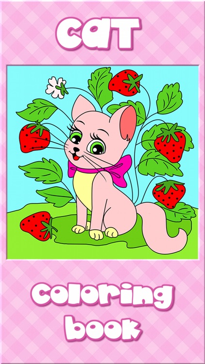 Cat Kitty Kitten Coloring Book