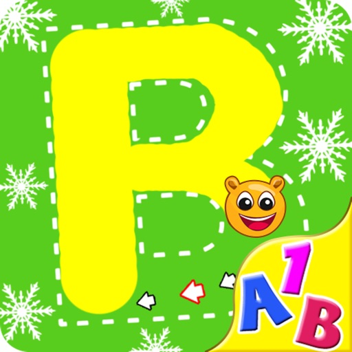 Trace It - Alphabets Numbers and Shapes HD