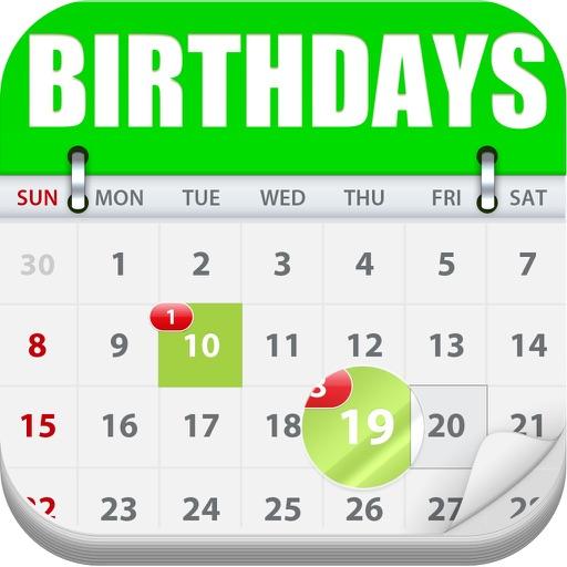 Birthday Count Down - My Birthdays Calendar