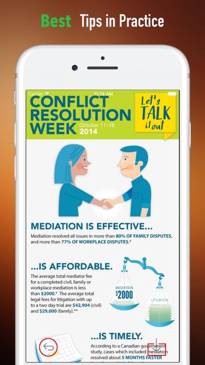 Conflict Resolution Skills-Effective Activities screenshot-3