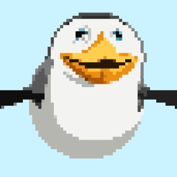 Ice Racing - Flappy Pinguin Pixelated Edition