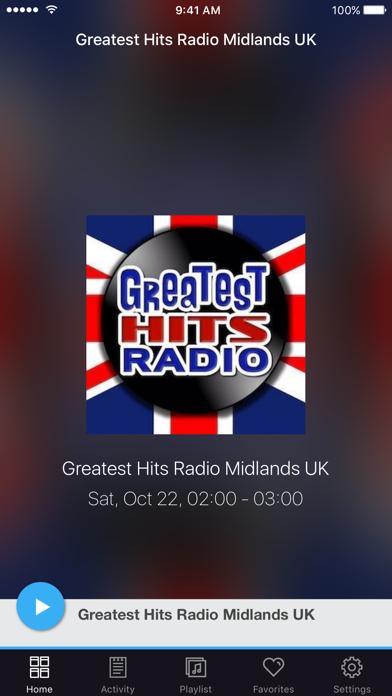 Greatest Hits Radio Midlands UK screenshot one