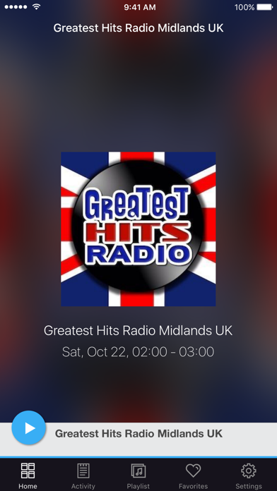 Greatest Hits Radio Midlands UK screenshot one