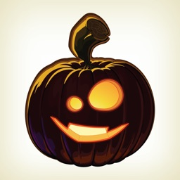 Pumpkin Halloween Emoji Sticker #5