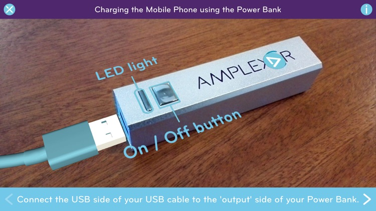Ar Powerbank Instructions By Amplexor Netherlands Bv