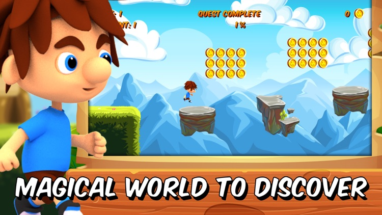 Hopper Steve - platformer games in adventure world screenshot-2