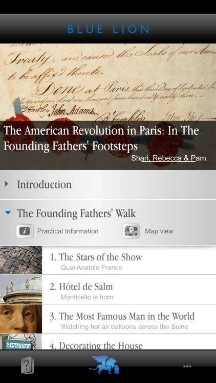 Paris: In the U.S. Founding Fathers' Footsteps