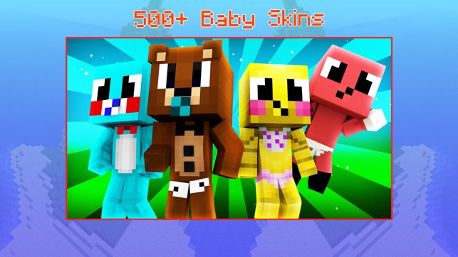 Baby Skins For Minecraft Pe Boy Girl Skinseed On The App Store