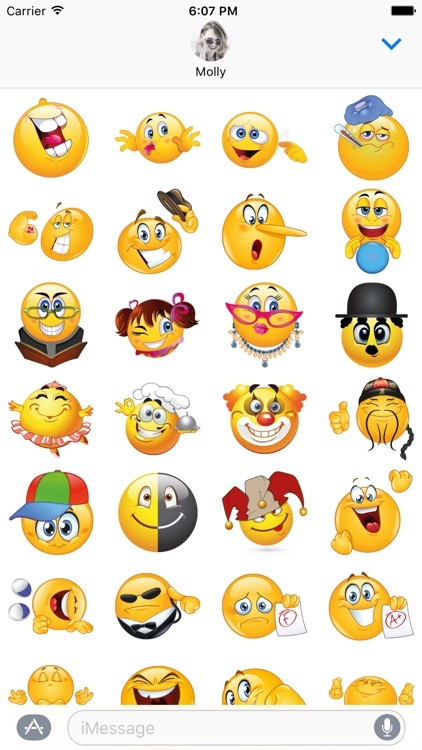 Funny Emojis for iMessage - Simply Hilarious