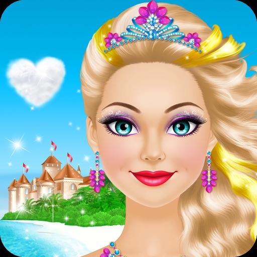 Tropical Princess - Makeup and Dressup Salon Game