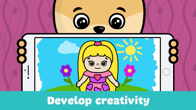 Baby coloring book for kids on the App Store