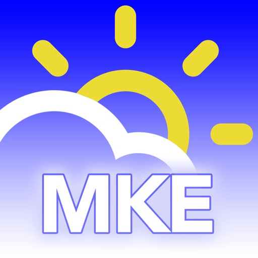 MKE wx: Milwaukee Weather Forecast, Traffic, Radar icon