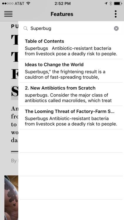 Scientific American app image
