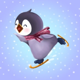 Penguin Bo 2 Winter Bird Stickers for Messages