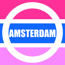 Amsterdam Map offline- Pocket Netherland Holland Amsterdam Travel Guide with offline GVB Amsterdam Metro Map, Amsterdam Bus Routes Map, NS Trains, Amsterdam Maps, Amsterdam Street maps