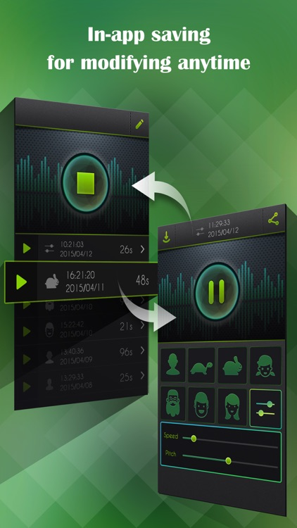 Voice Changer, Sound Recorder screenshot-2
