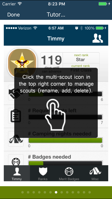 The Scout App for boys in Boy Scouts of America screenshot three