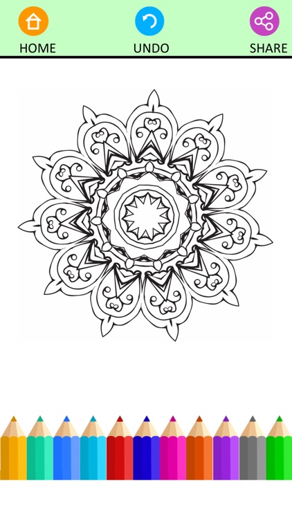 Coloring Book For Adults Pigment Pages Relaxation
