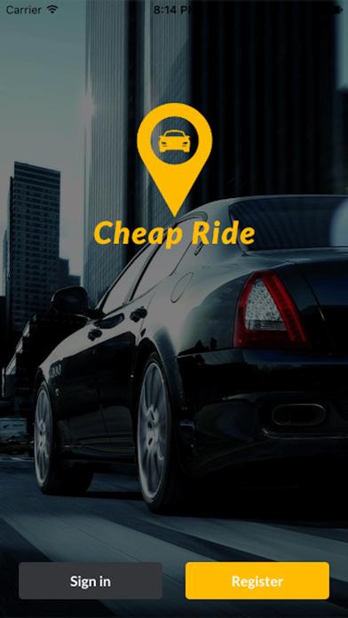 Cheap Rides's Driver App screenshot one