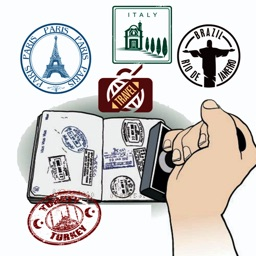 World Traveler - Fun Stickers for Travel Photos