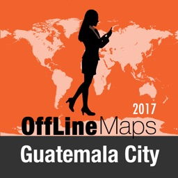 Guatemala City Offline Map and Travel Trip Guide
