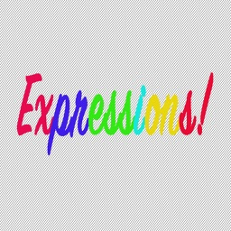 Expressios Multi-Colored Stickers for iMessage