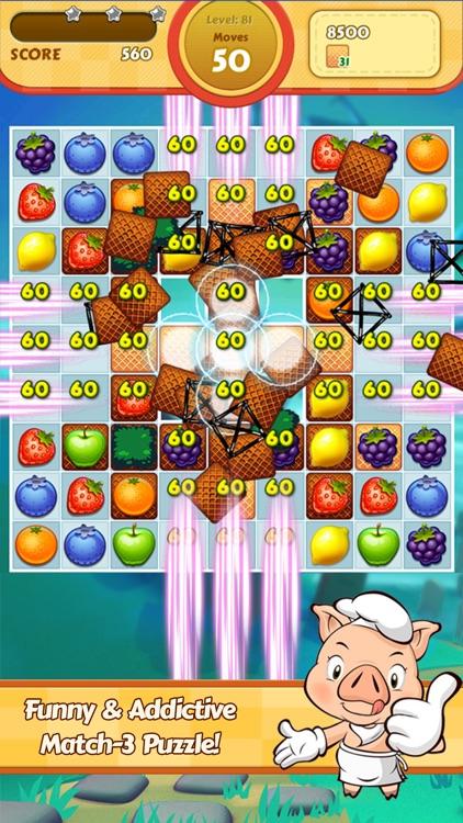 Juice Taste Fever - Garden Drop Puzzle screenshot-3