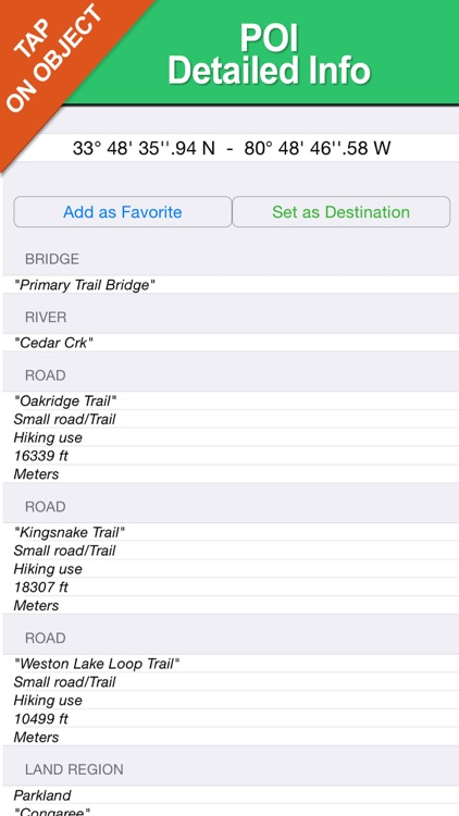 Badlands National Park - GPS Map Navigator screenshot-3