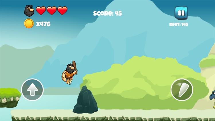 Dinosaur vs Caveman - Dino Hunting Games for Kids screenshot-3