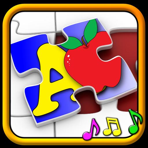 孩子 ABC 和计数拼图游戏-学习字母表算术形状和数字,为学龄前儿童