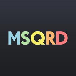 Ícone do app MSQRD — Filtros em direto para selfies de vídeo