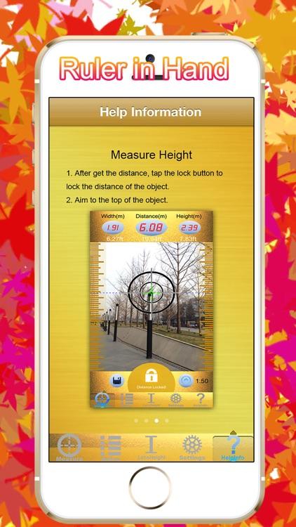 Laser Pointer Ruler - 3D Tape Measure screenshot-4